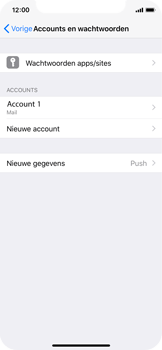 Apple iPhone X - E-mail - Account instellen (IMAP met SMTP-verificatie) - Stap 16