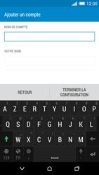 HTC Desire 820 - E-mails - Ajouter ou modifier un compte e-mail - Étape 18