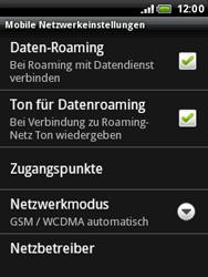 HTC Wildfire - Ausland - Im Ausland surfen – Datenroaming - 2 / 2
