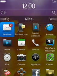 BlackBerry 9810 Torch - Instellingen - ontvangen via SMS - Stap 9