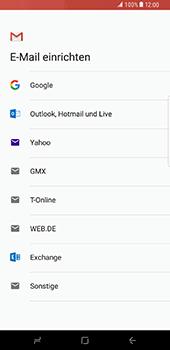 Samsung Galaxy S8 Plus - E-Mail - Konto einrichten (gmail) - 8 / 18