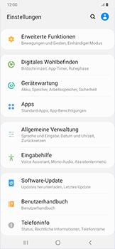 Samsung Galaxy A50 - Fehlerbehebung - Handy zurücksetzen - Schritt 6