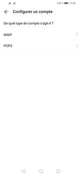 Huawei P30 Lite - E-mail - configuration manuelle - Étape 8