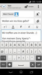 Sony Xperia E3 - E-Mail - E-Mail versenden - 10 / 16
