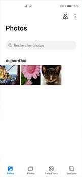 Huawei P40 - Photos, vidéos, musique - Envoyer une photo via Bluetooth - Étape 4