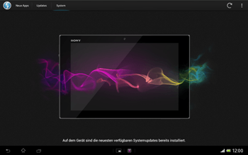 Sony Xperia Tablet Z LTE - Software - Installieren von Software-Updates - Schritt 9