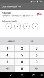 HTC Desire 530 - Sécuriser votre mobile - Activer le code de verrouillage - Étape 10