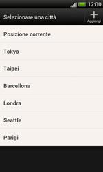 HTC Desire X - Operazioni iniziali - Installazione di widget e applicazioni nella schermata iniziale - Fase 6