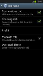 Samsung Galaxy S III - Internet e roaming dati - Disattivazione del roaming dati - Fase 6