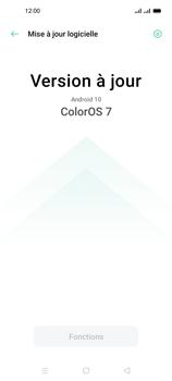 Oppo A53s - Aller plus loin - Mettre à jour le logiciel interne de votre mobile - Étape 7