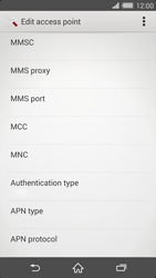Sony Xperia Z2 - MMS - Manual configuration - Step 11