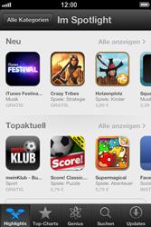 Apple iPhone 4S - Apps - Herunterladen - Schritt 3