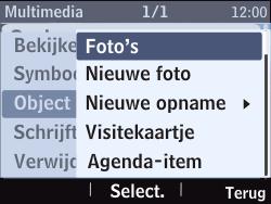 Nokia Asha 201 - MMS - afbeeldingen verzenden - Stap 18