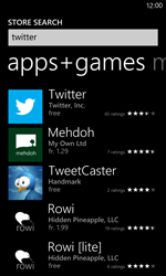 Nokia Lumia 820 / Lumia 920 - Applications - Setting up the application store - Step 6