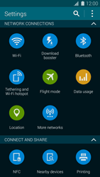 Samsung Galaxy S 5 - Internet and data roaming - How to check if data-connectivity is enabled - Step 4