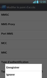 LG P710 Optimus L7 II - MMS - Configuration manuelle - Étape 16