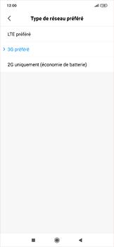 Xiaomi RedMi Note 7 - Réseau - Comment activer une connexion au réseau 4G - Étape 6