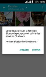 Alcatel U3 - Photos, vidéos, musique - Envoyer une photo via Bluetooth - Étape 10