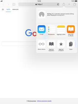 Apple iPad Air iOS 11 - Internet e roaming dati - Uso di Internet - Fase 6
