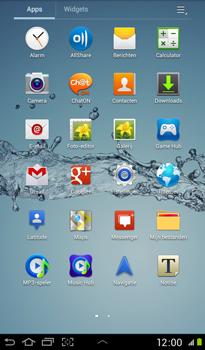 Samsung P3100 Galaxy Tab 2 7-0 - MMS - afbeeldingen verzenden - Stap 2