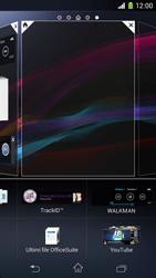 Sony Xperia Z1 Compact - Operazioni iniziali - Installazione di widget e applicazioni nella schermata iniziale - Fase 5