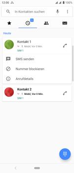 Sony Xperia 10 - Anrufe - Anrufe blockieren - Schritt 5