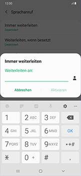 Samsung Galaxy A50 - Anrufe - Rufumleitungen setzen und löschen - Schritt 11
