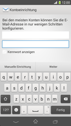 Sony Xperia Z1 Compact - E-Mail - Manuelle Konfiguration - Schritt 6