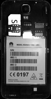 Huawei Y3 - SIM-Karte - Einlegen - 5 / 11