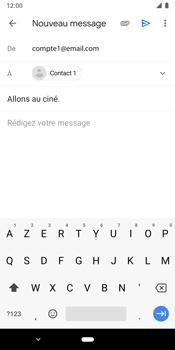 Google Pixel 3 - E-mails - Envoyer un e-mail - Étape 8
