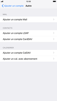 Apple iPhone 8 Plus - iOS 12 - E-mail - Configuration manuelle - Étape 7