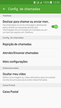 Samsung Galaxy J7 - Chamadas - Como bloquear chamadas de um número específico - Etapa 6