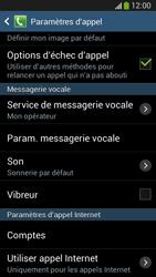 Samsung C105 Galaxy S IV Zoom LTE - Messagerie vocale - configuration manuelle - Étape 7