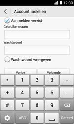 Huawei Ascend Y330 - E-mail - Handmatig instellen - Stap 15
