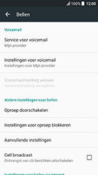 HTC U Play - voicemail - handmatig instellen - stap 11
