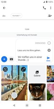 Sony Xperia XZ2 - Android Pie - MMS - Erstellen und senden - Schritt 14