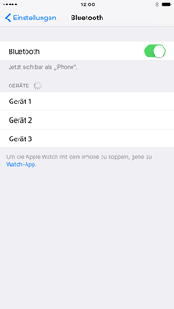 Apple iPhone 6 Plus - Bluetooth - Geräte koppeln - 7 / 9
