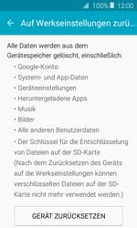 Samsung J120 Galaxy J1 (2016) - Fehlerbehebung - Handy zurücksetzen - Schritt 8