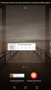 Huawei Mate 9 - Operazioni iniziali - Installazione di widget e applicazioni nella schermata iniziale - Fase 8