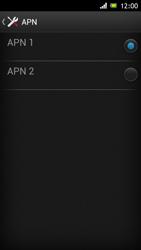 Sony Xperia J - Internet et roaming de données - Configuration manuelle - Étape 16