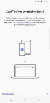 Samsung Galaxy S8 Plus - Datenschutz und Sicherheit - Cookies und Verlauf löschen - 5 / 12