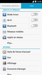 Huawei Ascend G6 - Wi-Fi - Accéder au réseau Wi-Fi - Étape 4