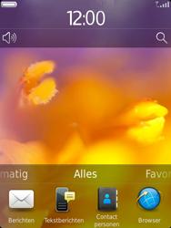 BlackBerry 9810 Torch - Instellingen - ontvangen via SMS - Stap 1