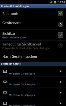 Samsung Galaxy Note - Bluetooth - Geräte koppeln - 10 / 13