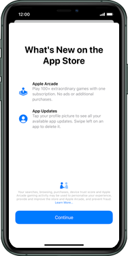 Apple iPhone 11 Pro Max - Applications - Setting up the application store - Step 3