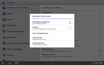 Samsung P7500 Galaxy Tab 10-1 - Internet - handmatig instellen - Stap 5