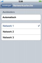 Apple iPhone 3G - Bellen - in het buitenland - Stap 5