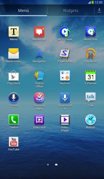 Samsung Galaxy Tab 3 7-0 - SMS - Manuelle Konfiguration - 3 / 9