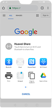 Huawei P20 Pro - Android Pie - Internet and data roaming - Using the Internet - Step 21