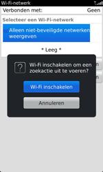 BlackBerry 9860 Torch - wifi - handmatig instellen - stap 5